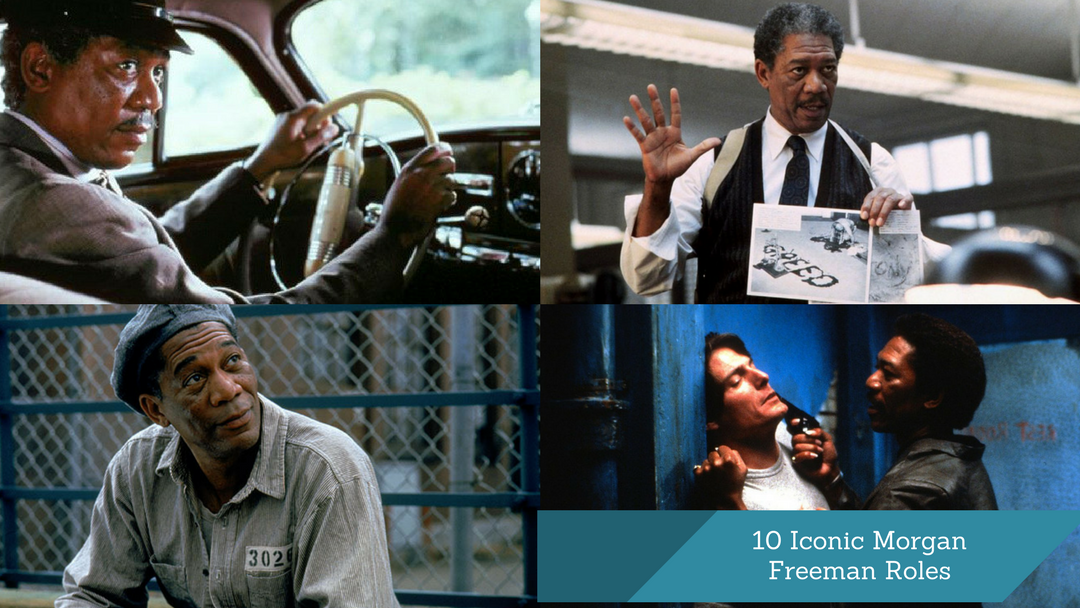 10 Iconic Morgan Freeman Roles