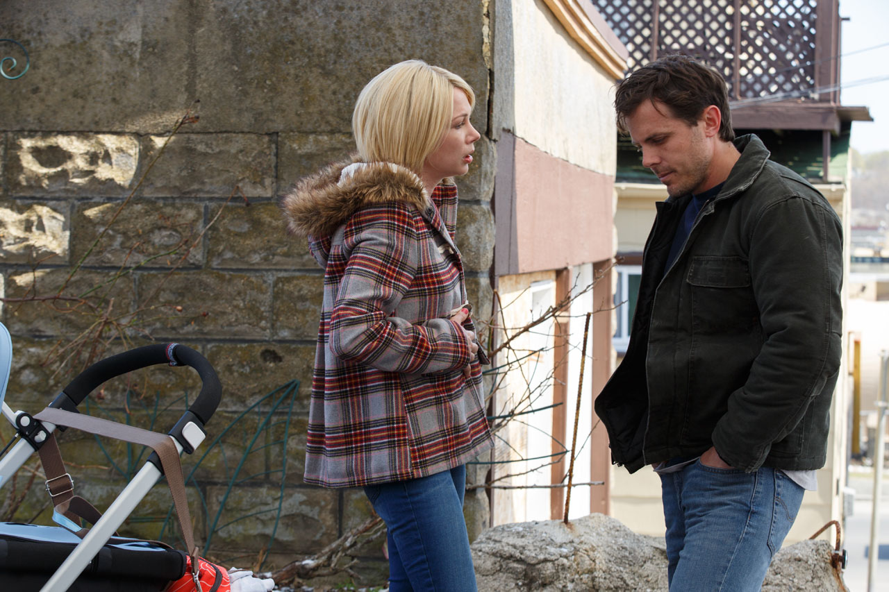 Michelle Williams (left) and Casey Affleck (right)