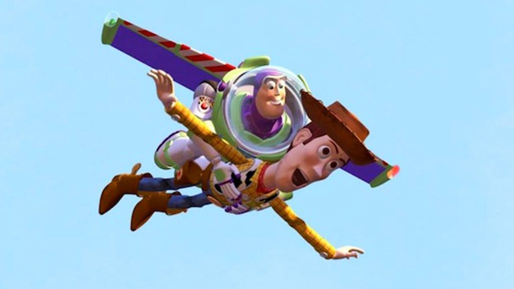 Toy Story Flying Still
