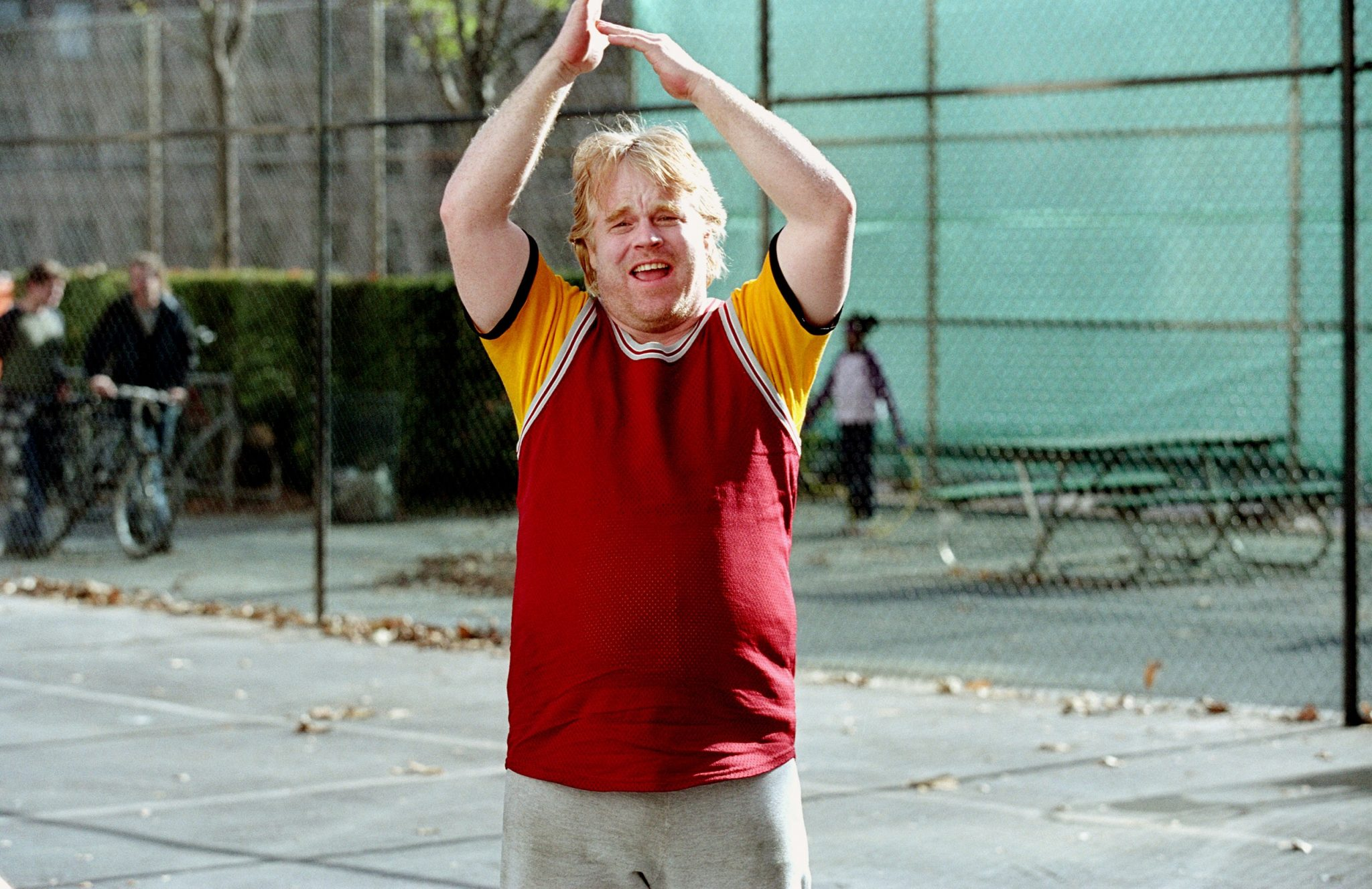 Phillip Seymour Hoffman basketball along came polly