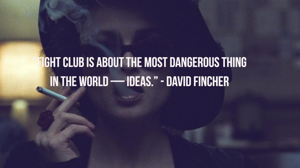 Fight Club Fincher Quote