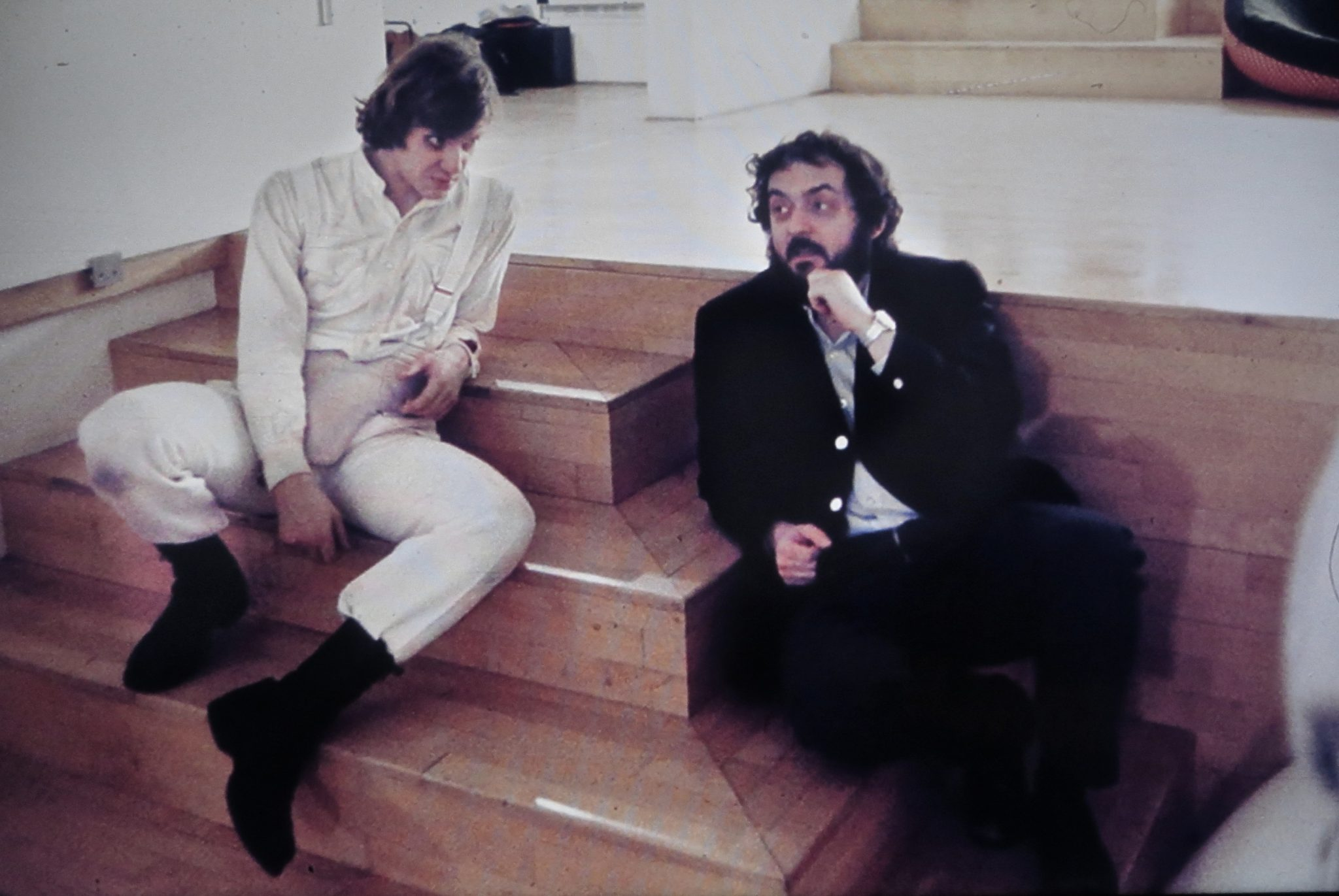 Kubrick-Directing-Clockwork-Orange