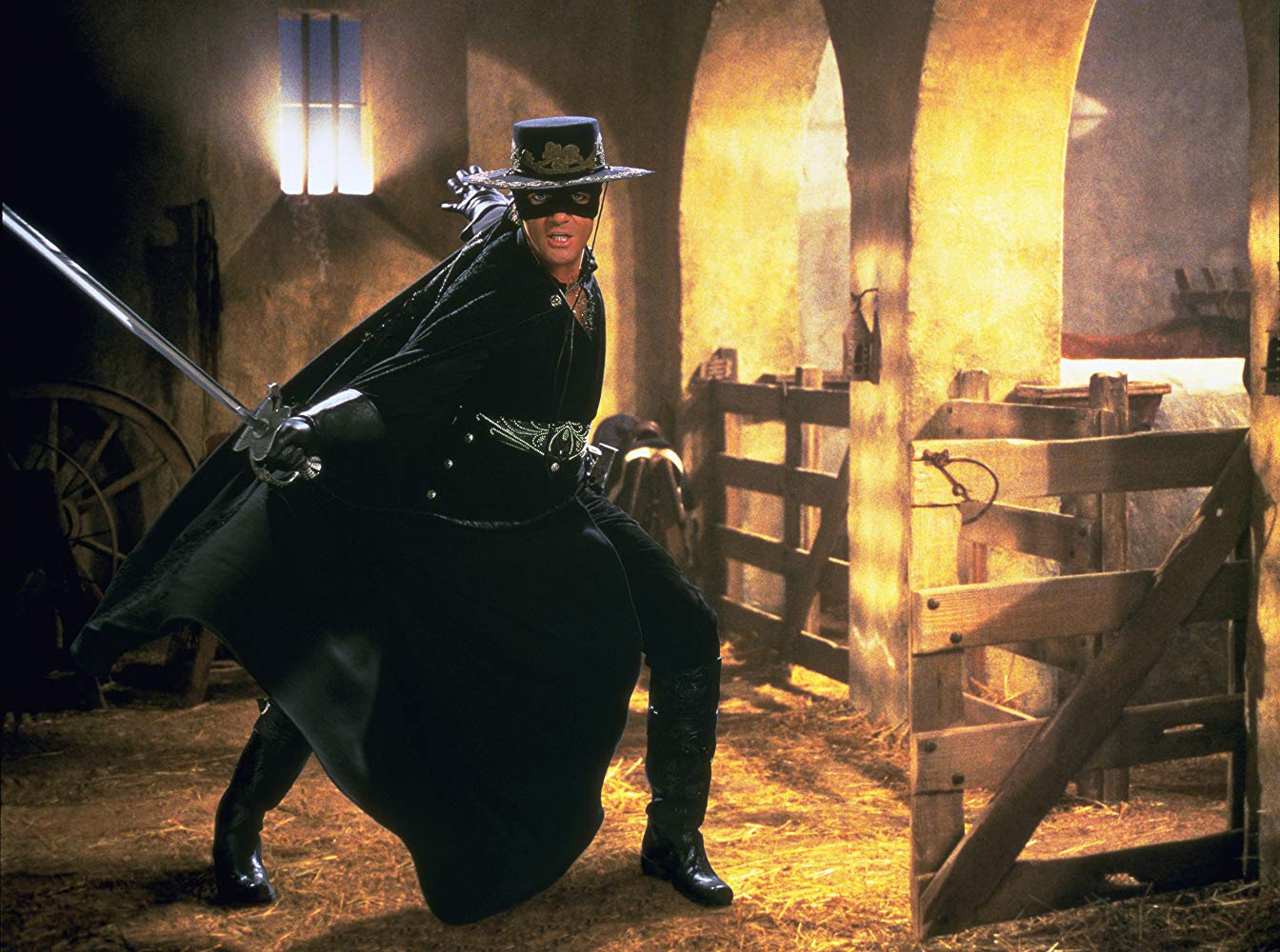 Mask Of Zorro Still 1