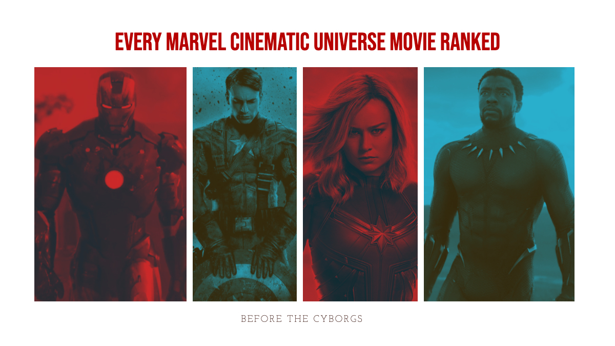 MCU Movies Ranked BTC