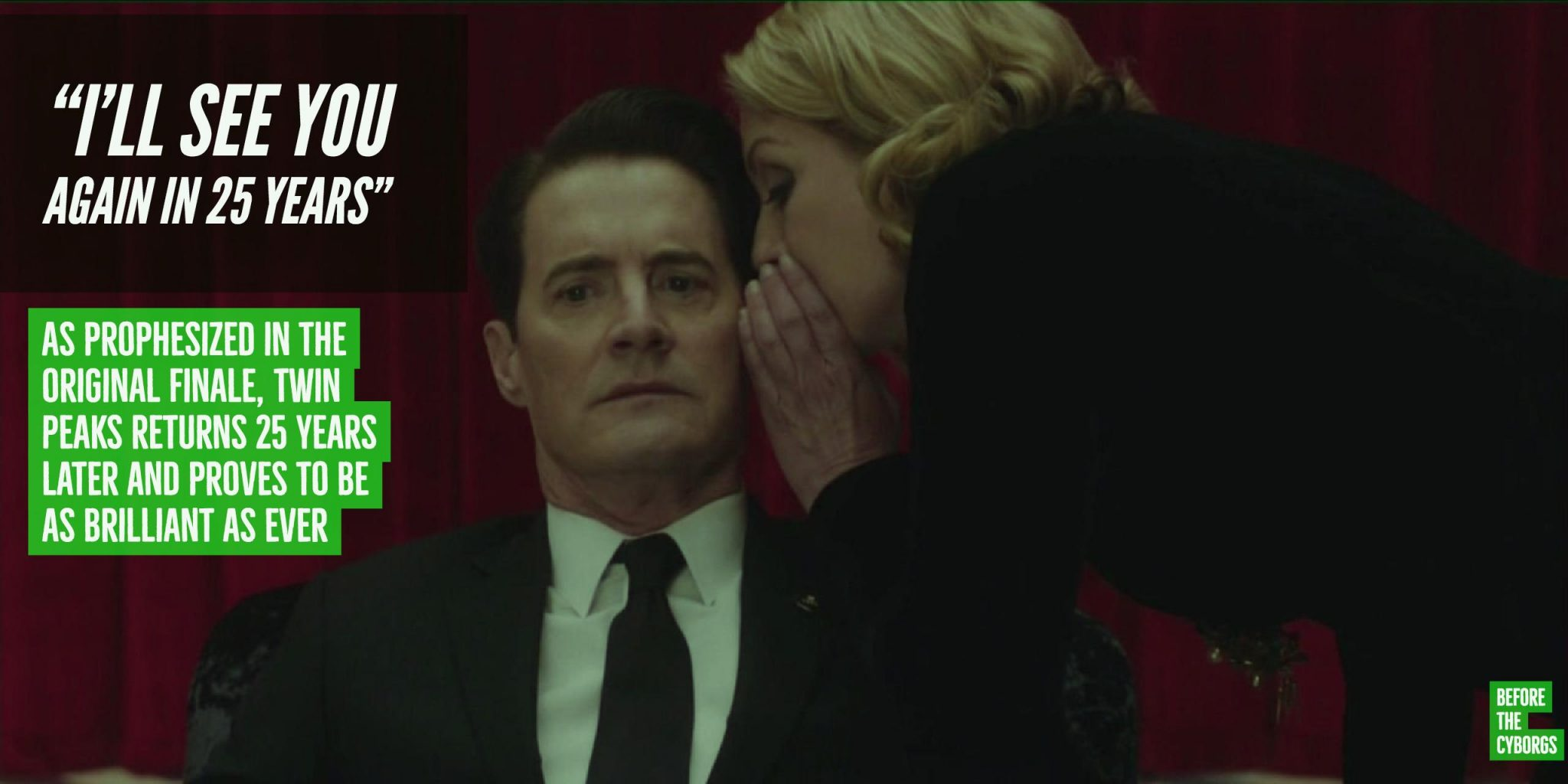 Twin Peaks 25 years return