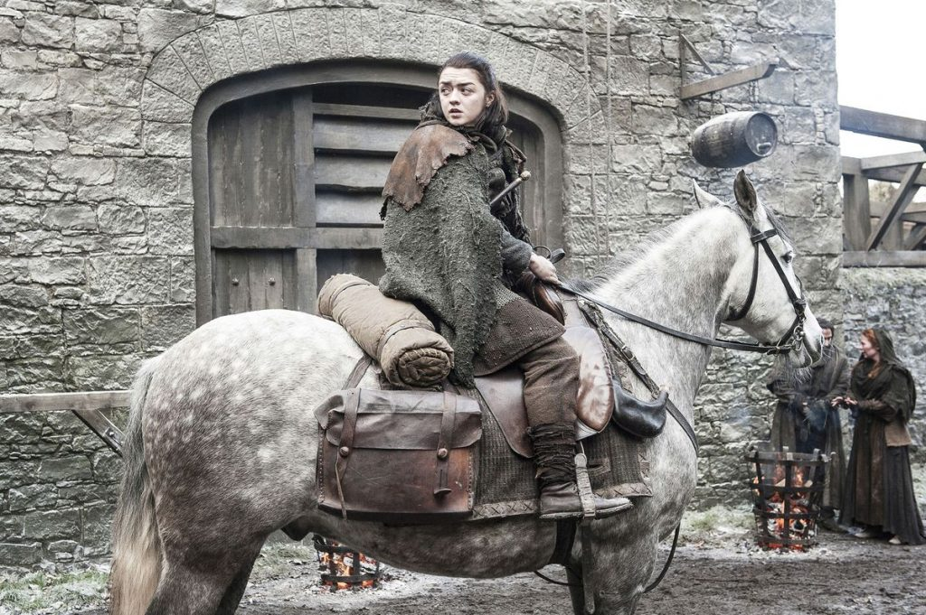 GAME OF THRONES SEASON 7 ARYA STILL
