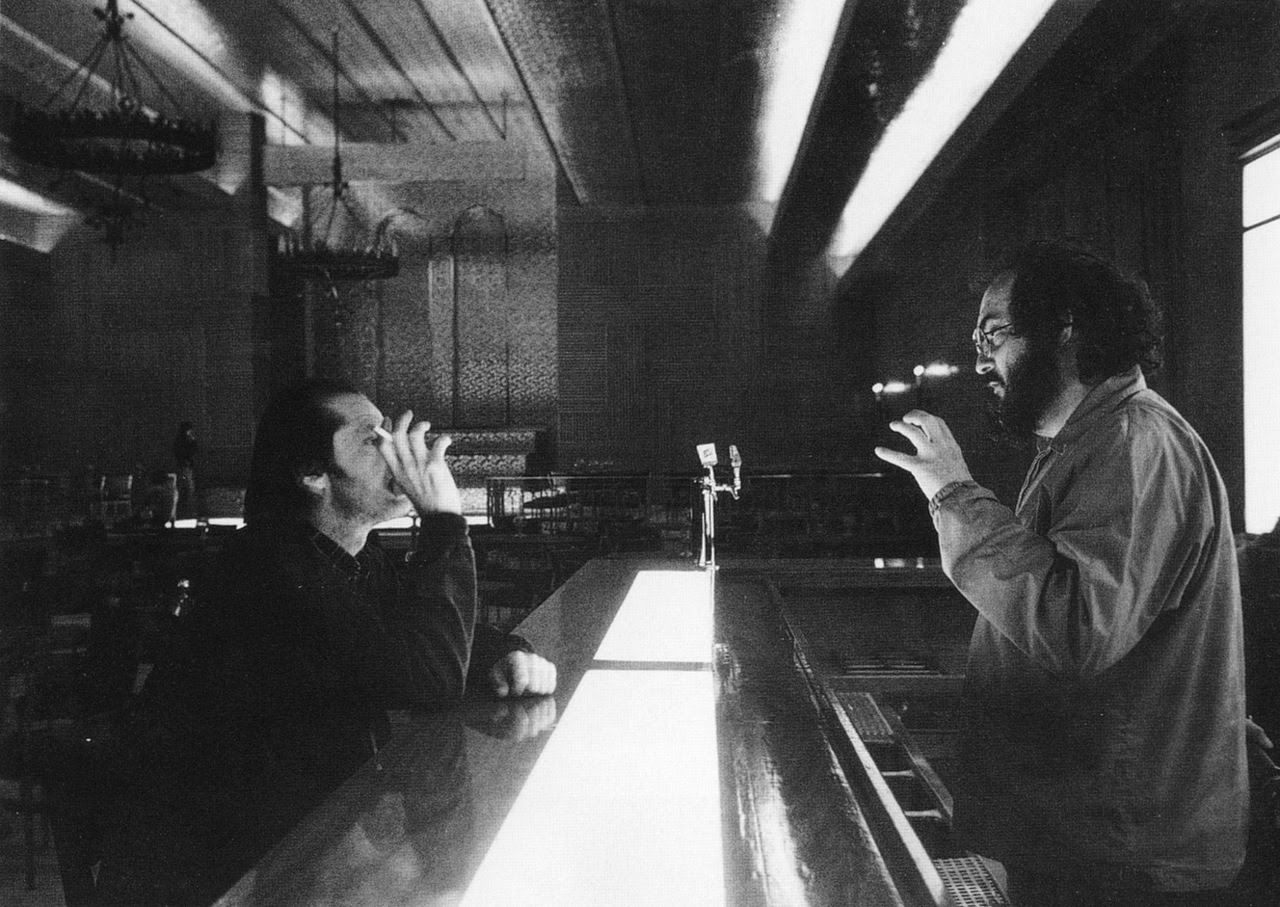 Kubrick directing The Shining
