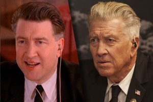 Twin Peaks Gordon Cole 1992 vs 2017